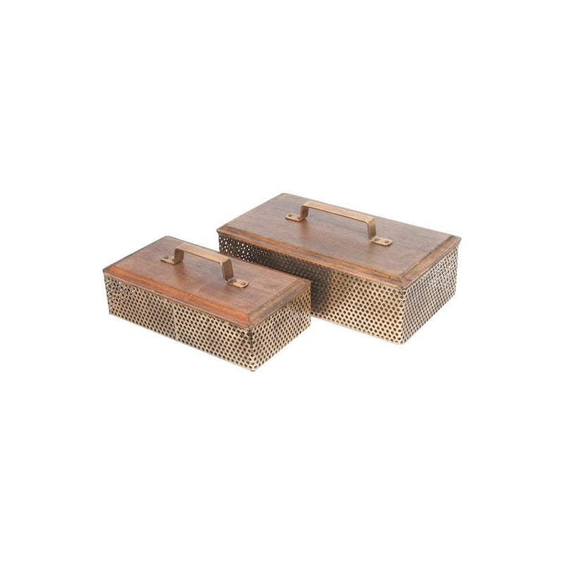 Luxe Deco Storage Boxes (Set of 2)