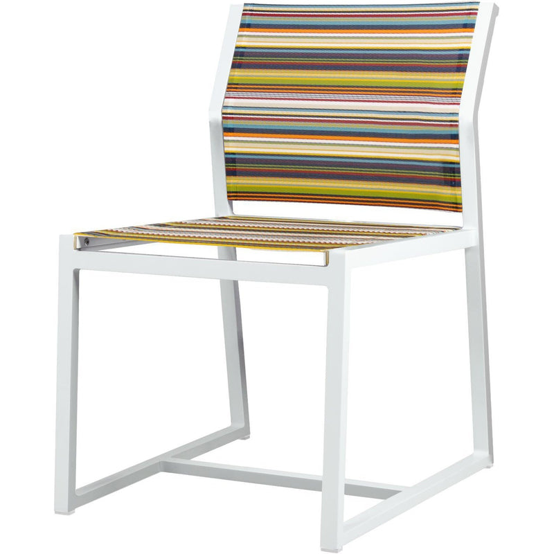 Stripe Carver Side Chair