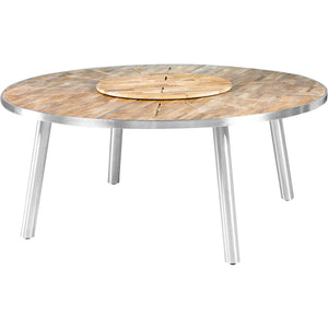 Meika Round Dining Table 180 cm - Teak