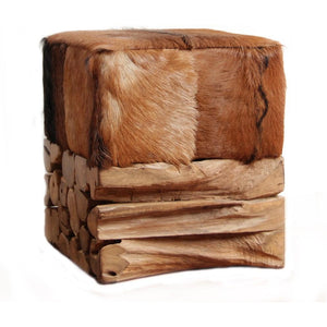 Shaggy Baron Stool