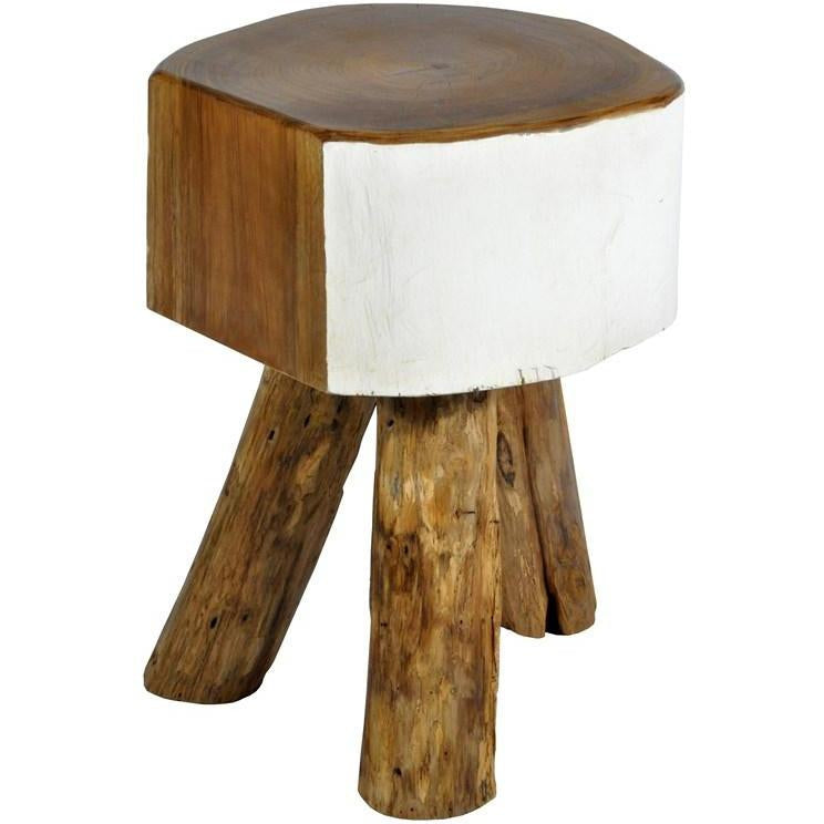 Cappello Stool - White