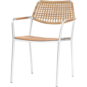 Meika Stacking Chair - Wicker