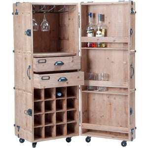 Two Tone Mini Bar