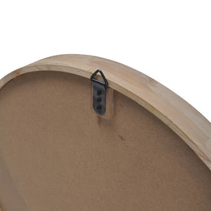 Cooper Round Mirror - Rubber Wood