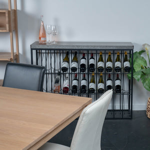 Taylor Wine Rack - Gunmetal