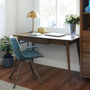 Vintage Office Desk -  American Walnut