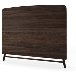 Twist Queen Size Headboard - American Walnut-Indoor Furniture-Karpenter-American Dark Walnut-American Black Walnut-SLH AU