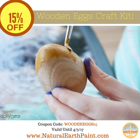 15% Off Wooden Eggs