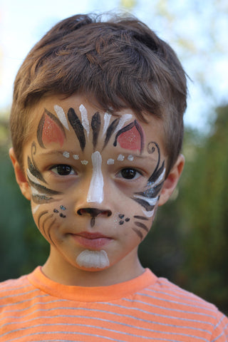 Natural Earth Paint Natural Face Painting Step By Step