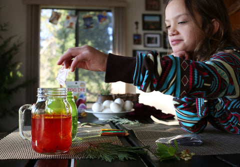 Egg Dying with Natural Dyes