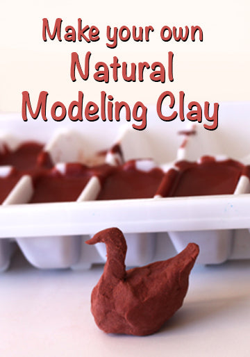 Make your own Natural Modeling Clay March 08 2015