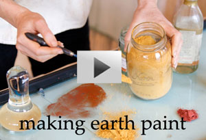 Natural Earth Paint youtube video