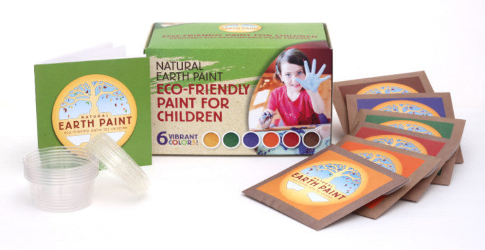 NATURAL EARTH PAINT - Children\'s Earth Paint Kit