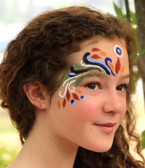 Natural earth paint natural face paint kit for Face paints supplies
