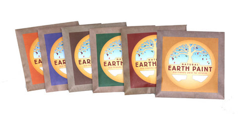 Children's Earth Paint Packets,  Individual