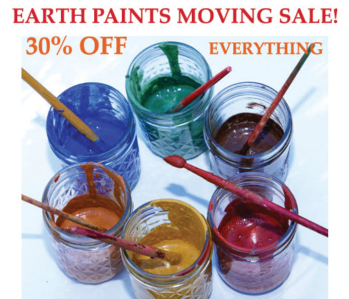 Earth Paints Moving Sale