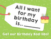 Birthday Rad-Libs