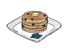 Smart Start Blueberry Pancakes