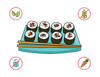 Dietary Modifications for Handmade Sushi Rolls