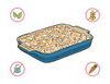 Dietary Modifications for Baked Mac & Cheese