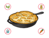 Dietary Modifications for Peach Pancake Puff
