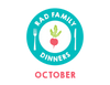 Rad Family Dinners: October - Spooky Suppers