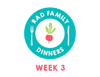 Rad Family Dinners: Week 3 - Breakfast for Dinner