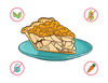 Dietary Modifications for Apple Crumb Pie