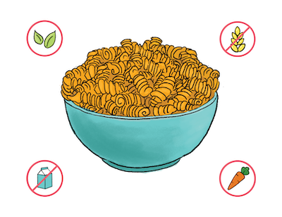 Dietary Modifications for Butternut Squash Mac & Cheese