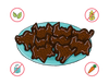 Dietary Modifications for Chocolate Creature Cookies