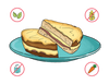Dietary Modifications for Croque Monsieur Sandwich