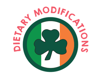 Dietary Modifications for Irish Eats
