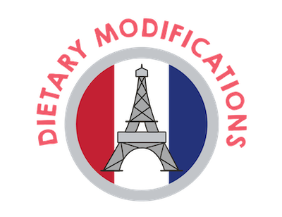 Dietary Modifications for Le French Café