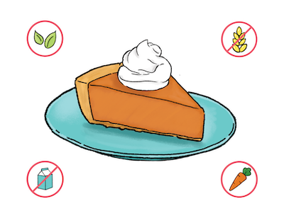 Dietary Modifications for Maple Pumpkin Pie