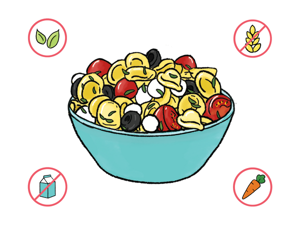 Dietary Modifications for Planetary Pasta Salad