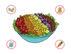 Dietary Modifications for Rainbow Taco Salad