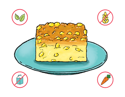 Dietary Modifications for Savory Corn Pudding