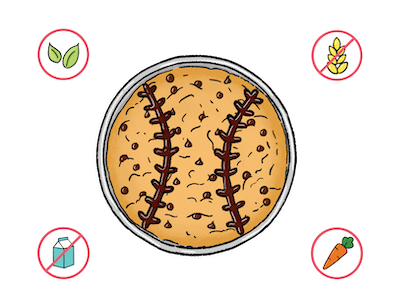 Dietary Modifications for Sporty Cookie Cake