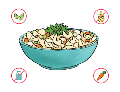 Dietary Modifications for Turkey Noodle Soup