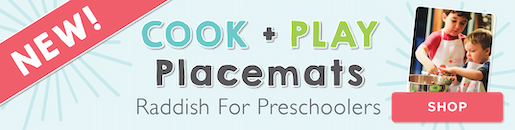 Cook + Play for Preschoolers