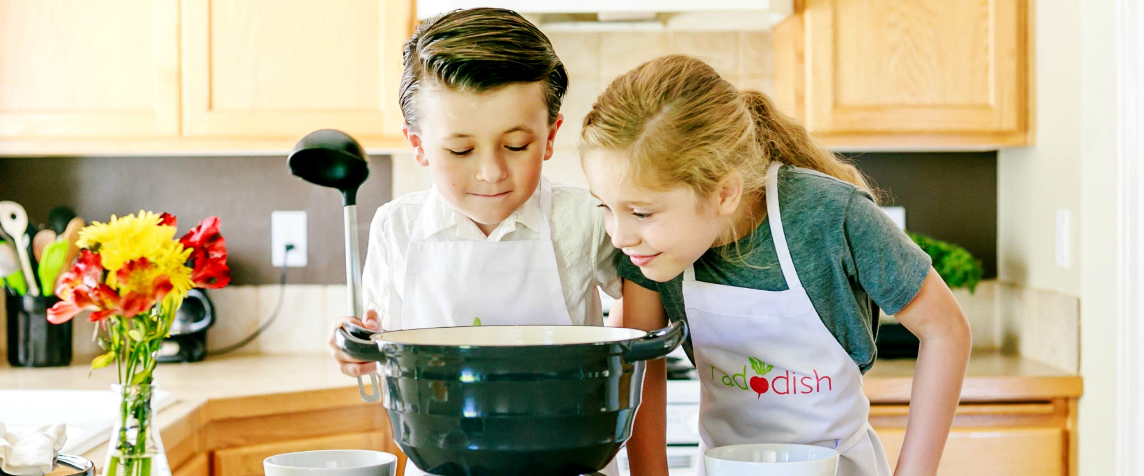 raddish cooking club for kids edible education family fun