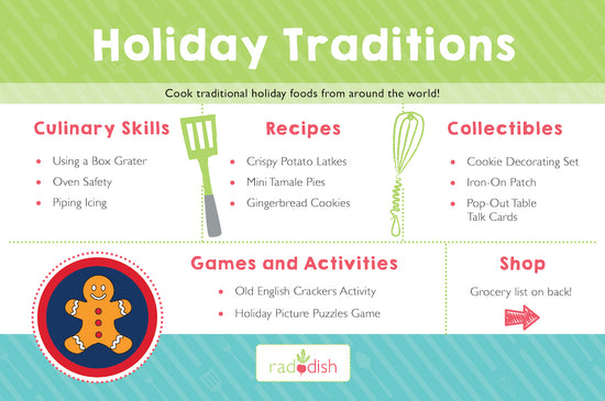 Holiday Traditions Cooking Kit