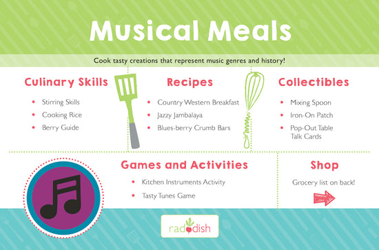 Musical Meals Cooking Kit