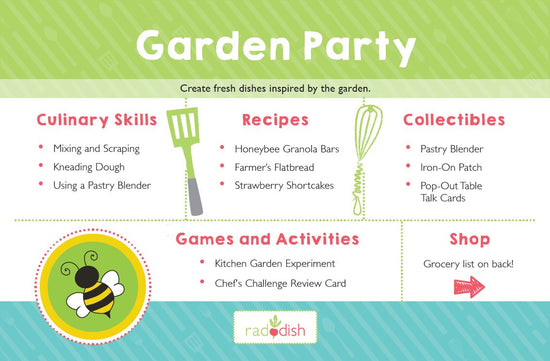 Garden Party Cooking Kit