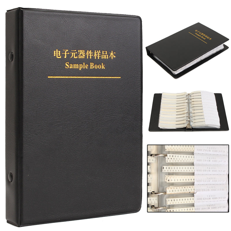 0805 SMD Resistor And Capacitor Sample Book Full Version