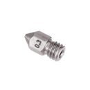 0.2/0.3/0.4mm 1.75mm Stainless Steel Nozzle for Prusa i3 3D Printer Part