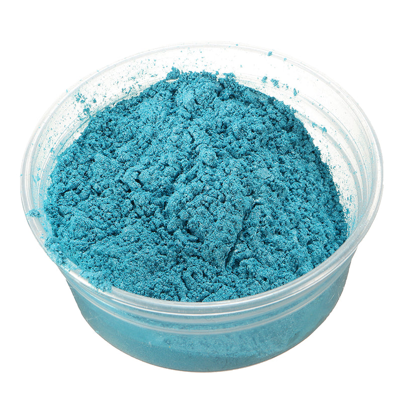 100g Blue Ghosting Shimmer Sparkle Pearl Pigment Ghost Flames Paint Powder