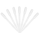 100Pcs 3mL Plastic Pipettes Eye Dropper Set Disposable Graduated Transfer Liquid Paint Pipette
