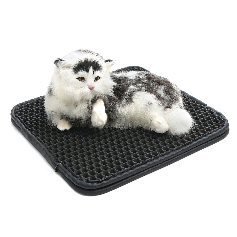 Cat Litter Pad Mat Pet Foam Rubber Rug Foldable 2 Layers EVA Waterproof