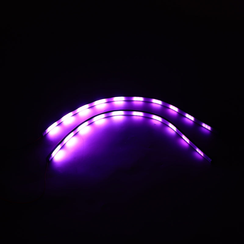 Car LED Rear Window Music Atmosphere lights Sticker Sound Activated Decoration Lamps Waterproof RGB 7 Color 5050 DC12V